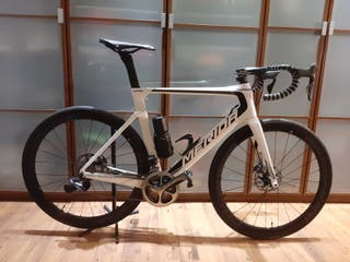 bicicleta carbono merida reacto di2