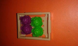 playmobil lechugas caja de frutas y verduras