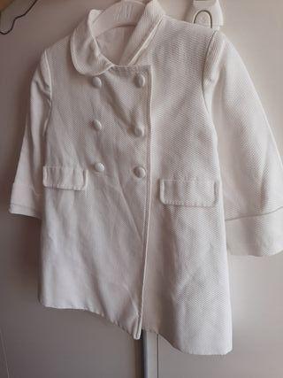 abrigo de piqué talla 18 meses marca YOEDU