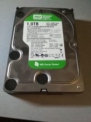 "disco duro 1 TB w.digital green sata 3 3.5"""