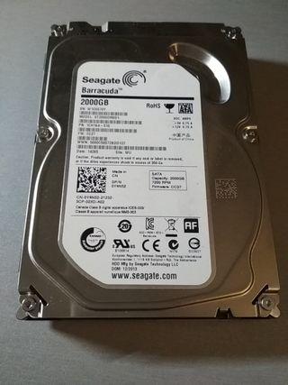 """disco duro seagate 2 tb Sata3 3.5"""""""