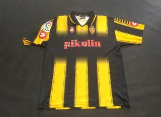 camiseta real Zaragoza 2004 final copa lotto