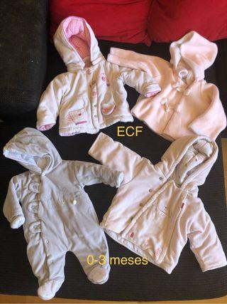 Ropa de bebé 0-3 meses