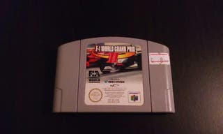 F-1 World grand prix II N64