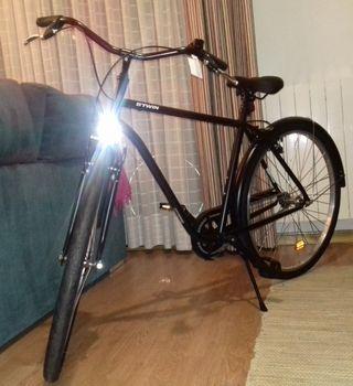 Bicicleta estilo holandés