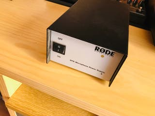 Micro RODE NTK + suspensión + antipop