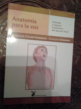 """libro""""anatomia para la voz""""Calais Germain"""