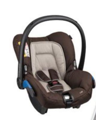 silla auto bebé confort