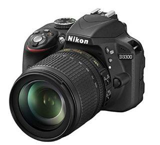 cámara Nikon D3200+objetivo 18-55 mm+objetivo 50mm
