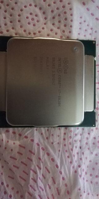 procesador Intel core i7 5820k