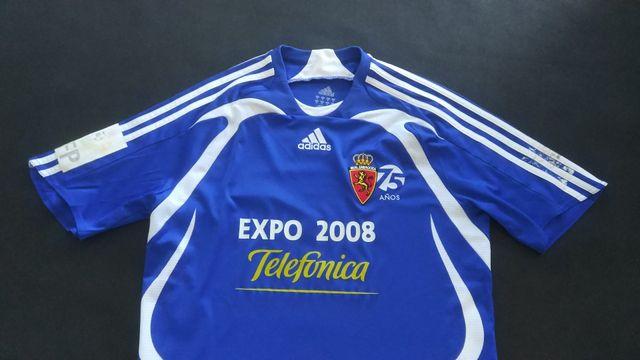 camiseta real Zaragoza 2008 visitante formotion