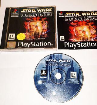 Star wars episodio 1 PSX con manual completo
