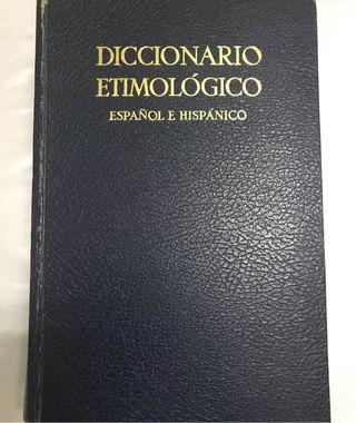 Diccionario Etimológico Español e Hispano.