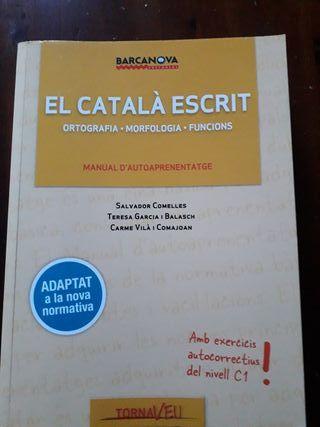 EL CATALÀ ESCRIT C1