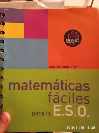 Matemáticas fáciles para la ESO