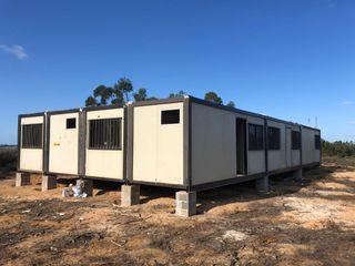 Construcciones modulares para temporeros/as
