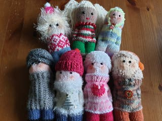 Pocket Pals. cuddly little people. Christmas gift