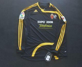 camiseta real Zaragoza Adidas 2007 XL nueva etique