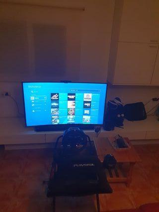PS4 pro + volante g29 + gafas vr etc