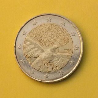 2 euros Peace in Europe Francia 2015
