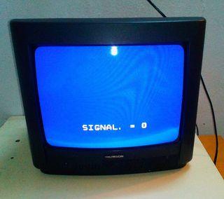 Televisión TV CRT de 14 pulgadas