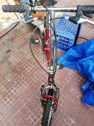 bicicleta nueva hador, plegable