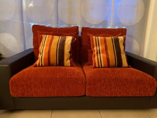 Sofá de 3/4 plazas IMPECABLE con fundas lavables