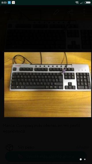 Teclado pc ordenador