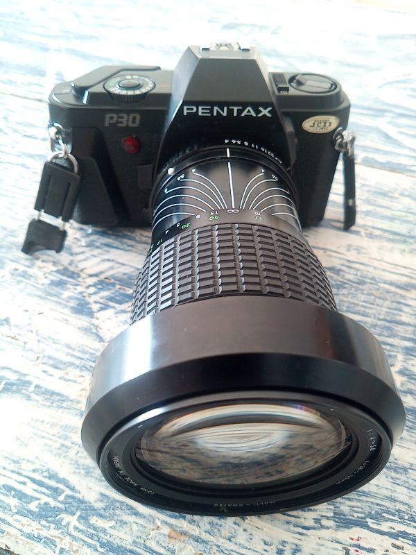 Pentax P30 con Sigma 28-135
