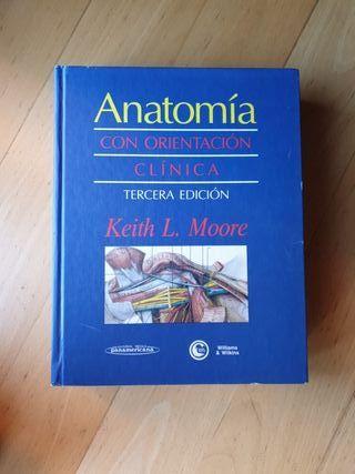 libro anatomia clínica keith L Moore