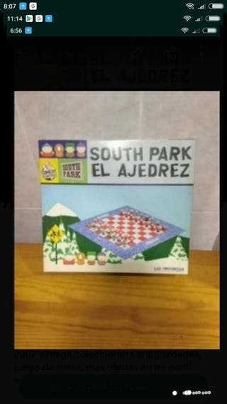 Ajedrez South park vintage
