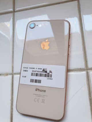 IPHONE 8 DE 64GB ROSA ORO ORIGINAL LIBRE BUEN EST