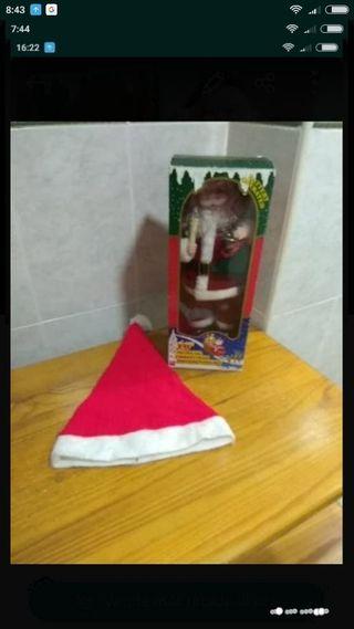 Papa Noel nuevo y gorro de regalo