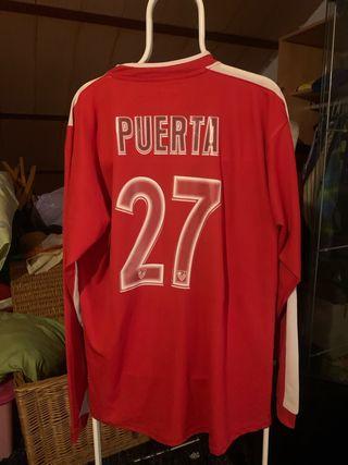 Camiseta futbol sevilla fc puerta debut