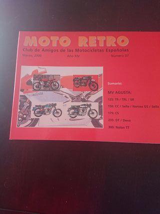 REVISTA MOTO RETRO 37 MARZO 2000 MV