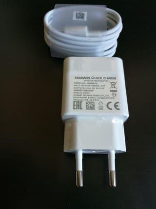 Cargador Original Huawei Quick Charge + Cable