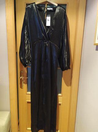 Vestido de Fiesta Mango negro