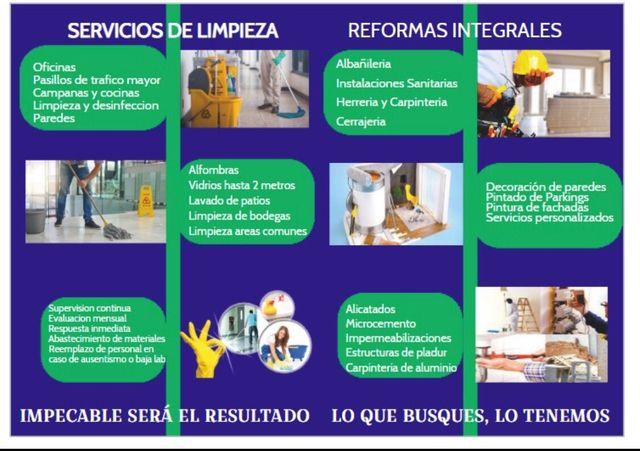 Reformas integrales, instalaciones, mantenimiento