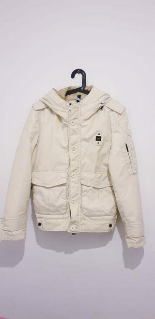 Abrigo BLAUER blanco talla M