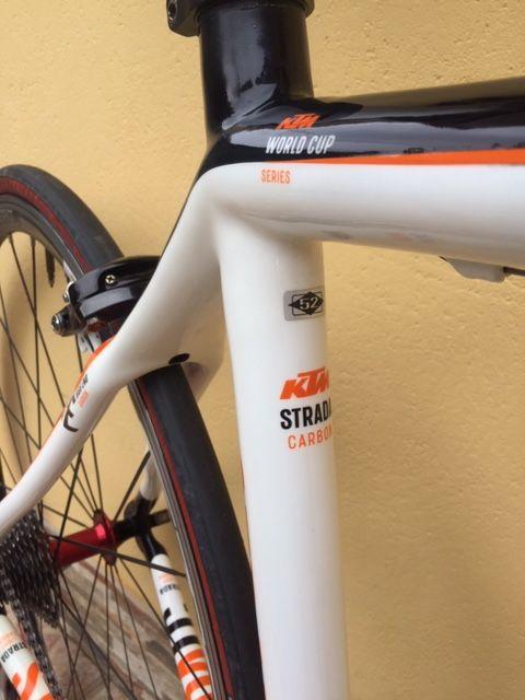 bicicleta carretera carbono KTM Strada LC 4000