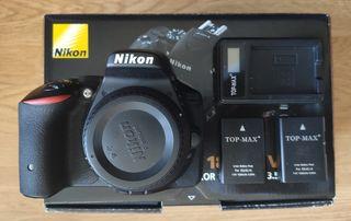Vendo Nikon D5500 + 2 Baterías adicionales