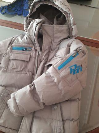 chaqueta invierno talla 116 años gris