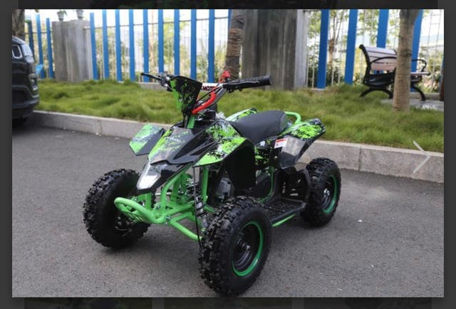 Kids mini quads 50cc brand new in various colours
