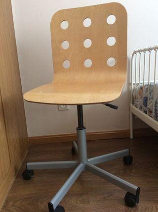 Silla de oficina escritorio con ruedas