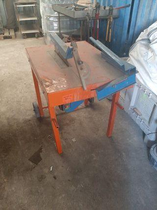 mesa de corte de maders