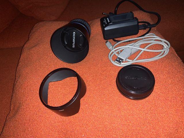 cámara réflex Olympus E-420 + 2 objetivos