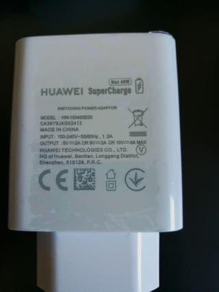 Cargador + Cable Huawei SuperCharge 40W