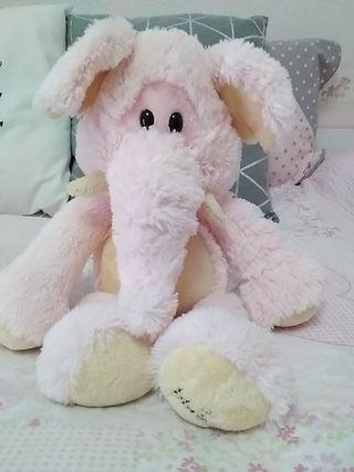 Peluche bla Blas elefante rosa