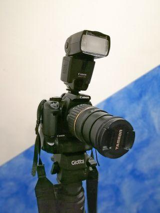 Camara Reflex Canon EOS 400D-SOLO CUERPO