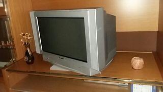 Televisor con base giratoria